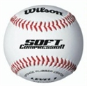 Picture of Wilson Soft Compression Baseball