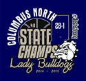 Picture of Girls State Champions Short Sleeve Shirt